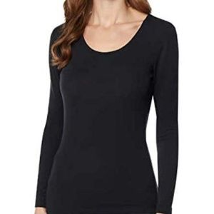 32 DEGREES Women's Long Sleeve Scoop Neck Variety